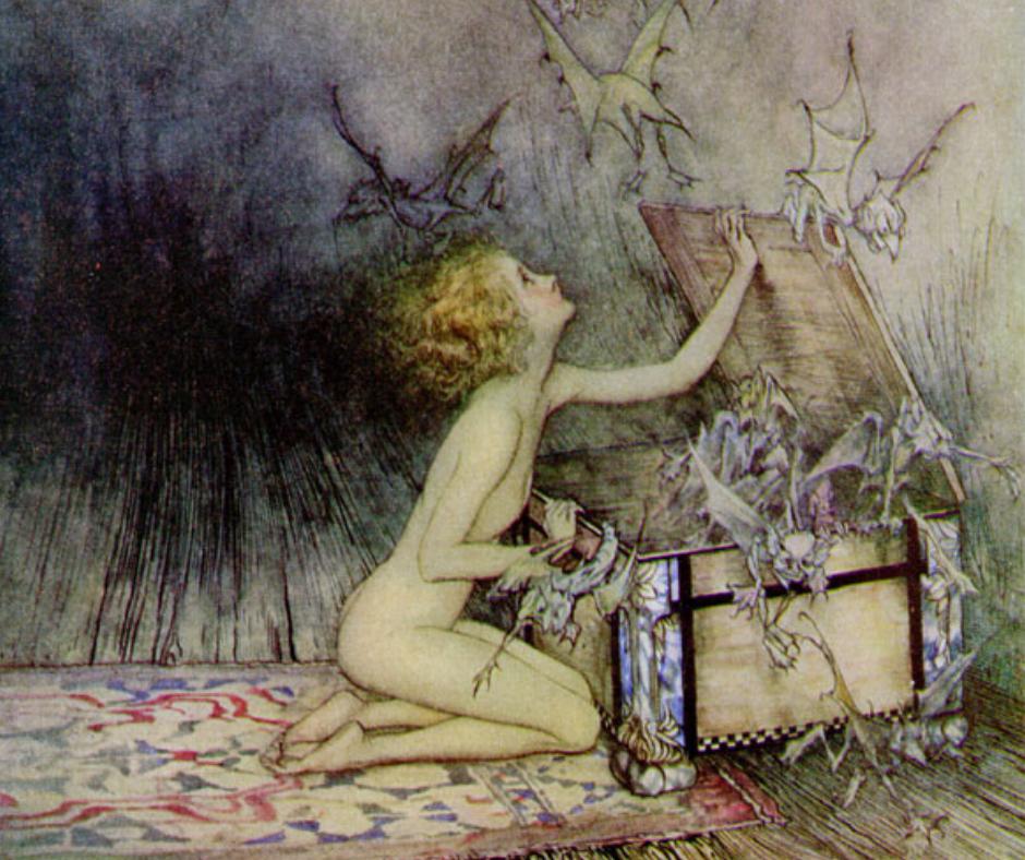 Il nostro tempo assiste all'apertura del vaso di Pandora